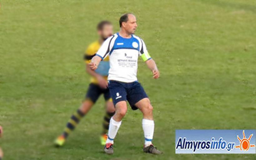 Aπό τη θέση του προπονητή-ποδοσφαιριστή συνεχίζει στον Αχιλλέα ο Γ. Παναγιώτου
