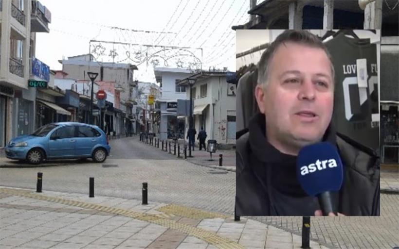 Κ. Πανταζώνας: Η αγορά του Αλμυρού έμεινε πίσω την εορταστική περίοδο (βίντεο)