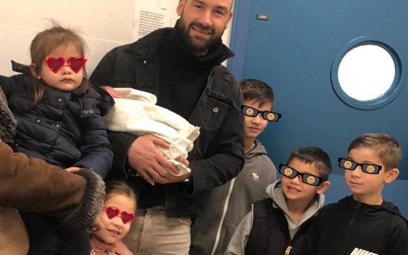 Σπανούλης - Χοψονίδου: Γεννήθηκε το 6ο παιδί τους