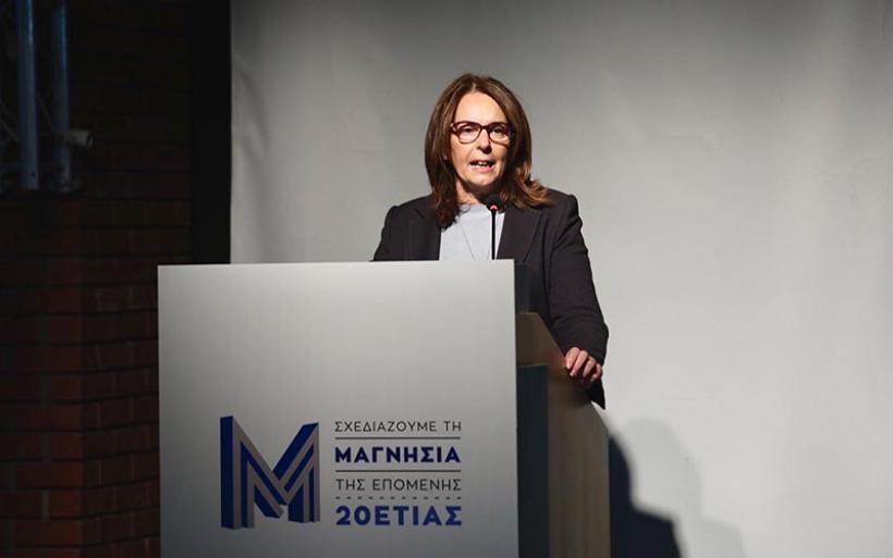 Κ. Παπανάτσιου: Δουλεύουμε για τη δυνατή ανασύνταξη της βιομηχανίας