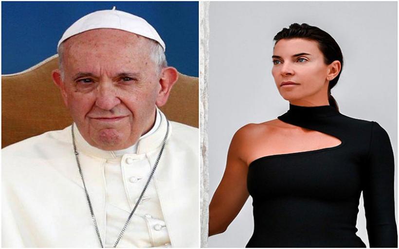 Μαρίνα Βερνίκου: Οι εντυπώσεις από τη γνωριμία της με τον πάπα Φραγκίσκο