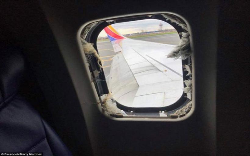 Πανικός σε πτήση! Τραγικός θάνατος για 43χρονη, τη «ρούφηξε» το σπασμένο παράθυρο