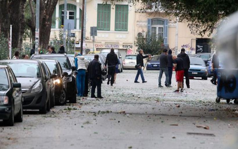 Επεισόδια στη Θεσσαλονίκη από οπαδούς της Σάλκε
