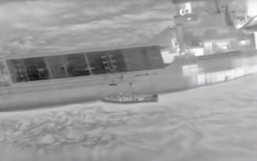 Καρέ-καρέ το ρεσάλτο του Λιμενικού στο πλοίο με τα ναρκωτικά στην Κρήτη