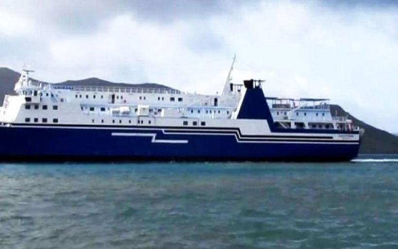 Ακινητοποιημένο στη Σαντορίνη το πλοίο Olympus - Εμφάνισε ρωγμές