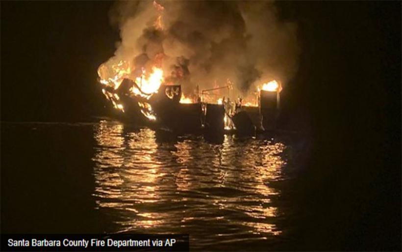 Τουλάχιστον 25 οι νεκροί από την τραγική φωτιά σε πλοίο στην Καλιφόρνια