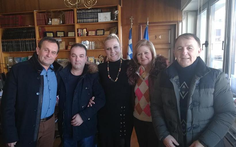 Συνάντηση Κολυνδρίνη με Πολιτιστικό Ευξεινούπολης για το Καρναβάλι 2019