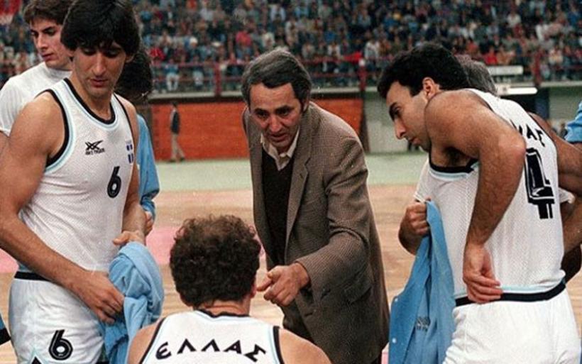 """Πέθανε ο Kώστας Πολίτης, ο προπονητής της """"χρυσής"""" Εθνικής του 1987"""