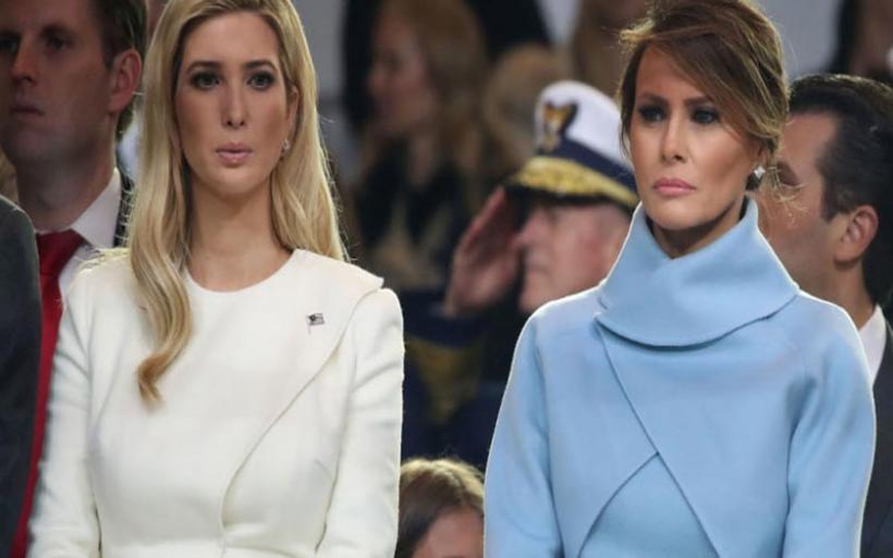 Η «πριγκίπισσα» και το «πορτρέτο»: Ετσι αποκαλούν η Μελάνια Τραμπ και η Ιβάνκα η μία την άλλη, μια σχέση στα «μαχαίρια»