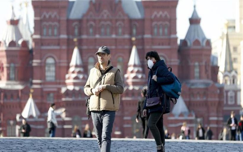 Ξεπέρασαν τα 423.000 τα κρούσματα κορωνοϊού στη Ρωσία