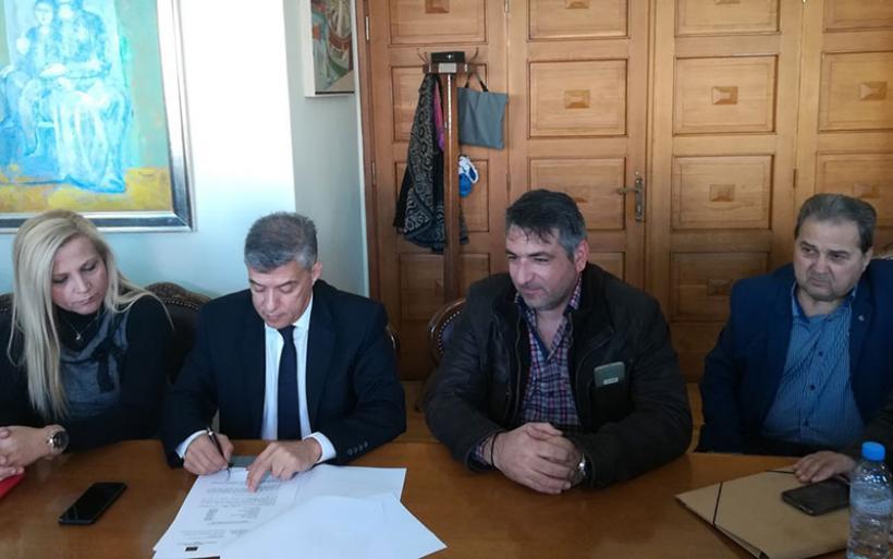Ξεκινούν δυο νέα έργα στην Π.Ε Μαγνησίας και Σποράδων από την Περιφέρεια Θεσσαλίας