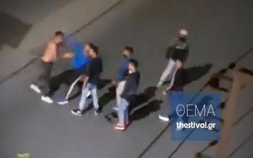Βίντεο - ντοκουμέντο από τη βίαιη επίθεση σε βάρος αλλοδαπού στη Θεσσαλονίκη