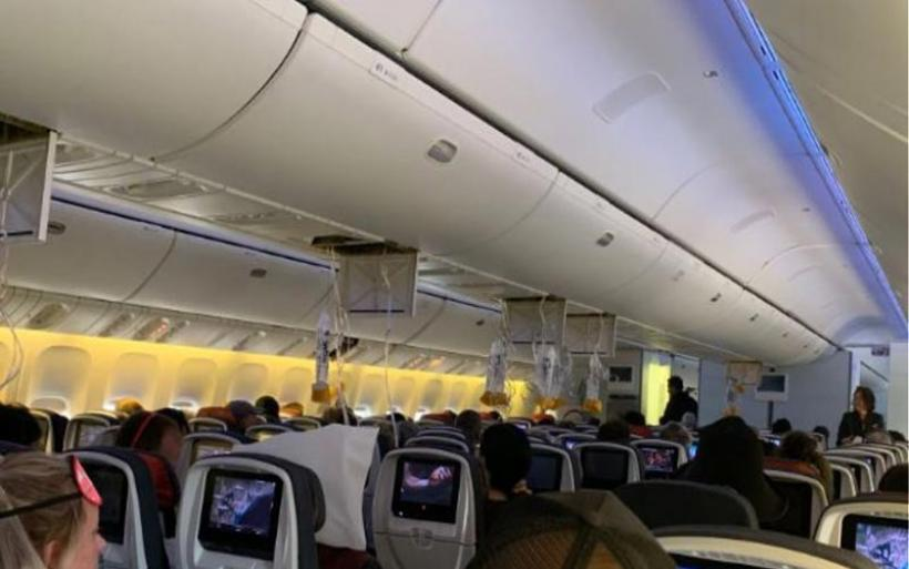 Πτήση Air Canada: Δείτε τις στιγμές μετά τις σφοδρές αναταράξεις που προκάλεσαν 35 τραυματισμούς