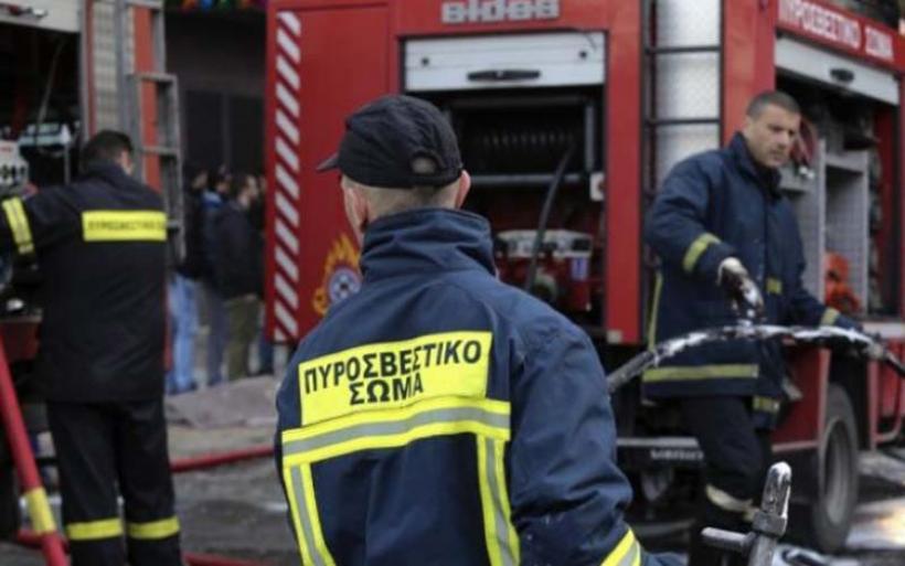 Βόλος: Αναστάτωση από φωτιά σε υπόγειο πάρκινγκ σούπερ μάρκετ