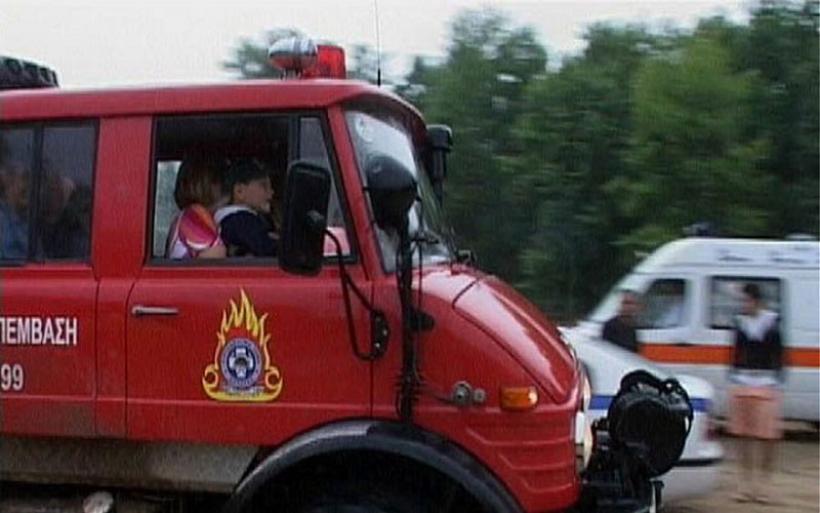 Μεγάλη πυρκαγιά στην Πάρο