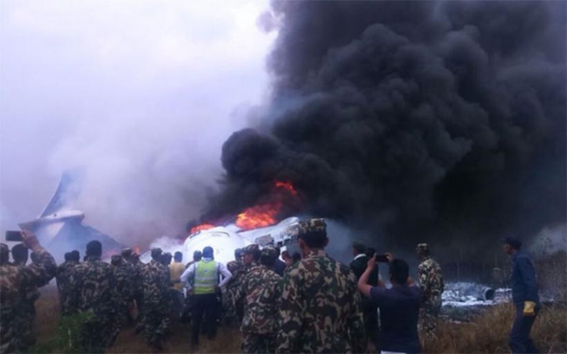 Νεπάλ: Τουλάχιστον 49 νεκροί από το αεροπορικό δυστύχημα