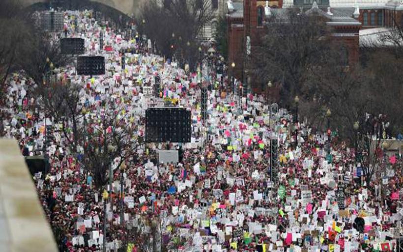 Σείστηκε η Αμερική από τις διαδηλώσεις κατά του Τραμπ -Πάνω από 2 εκατ. στους δρόμους