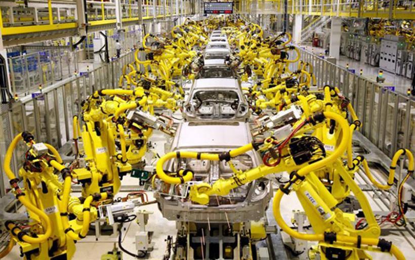 Πάνω από 3 εκατομμύρια βιομηχανικά ρομπότ μέχρι το 2020