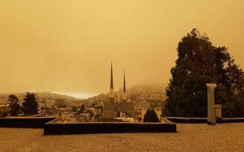 Τεράστια πυρκαγιά στη Β. Καλιφόρνια -Χάθηκε στον καπνό το Σαν Φρανσίσκο