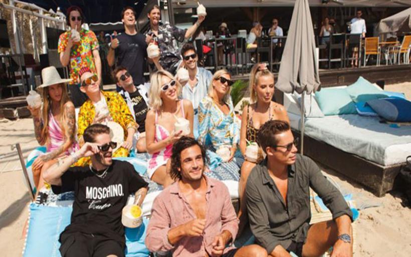 Tάμτα: Στην Ibiza με τον Jeremy Scott της Moschino!