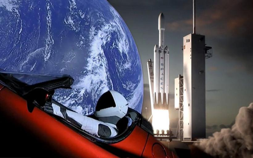 Η SpaceX γράφει ιστορία