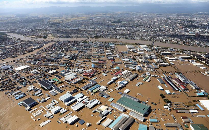 Σχεδόν 70 οι νεκροί από το φονικό πέρασμα του τυφώνα Χαγκίμπις στην Ιαπωνία