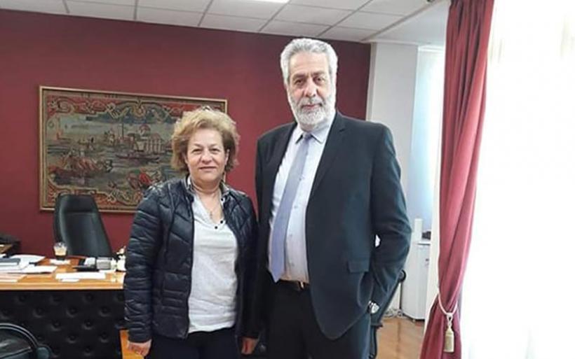 Υποψήφια δημοτική σύμβουλος με το συνδυασμό Δ. Εσερίδη η Μαρία Σταυραντώνη