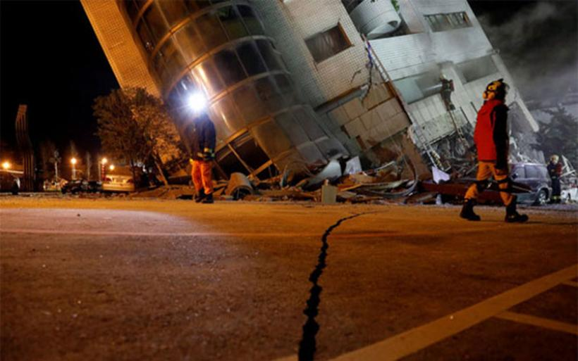 Ταϊβάν: Στους 9 οι νεκροί από τον σεισμό, αγνοούνται 62 άνθρωποι