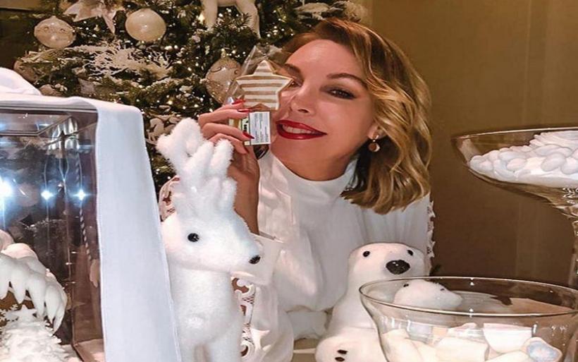 Τατιάνα Στεφανίδου: Φωτογραφίες από τα Χριστούγεννα στο Παρίσι!