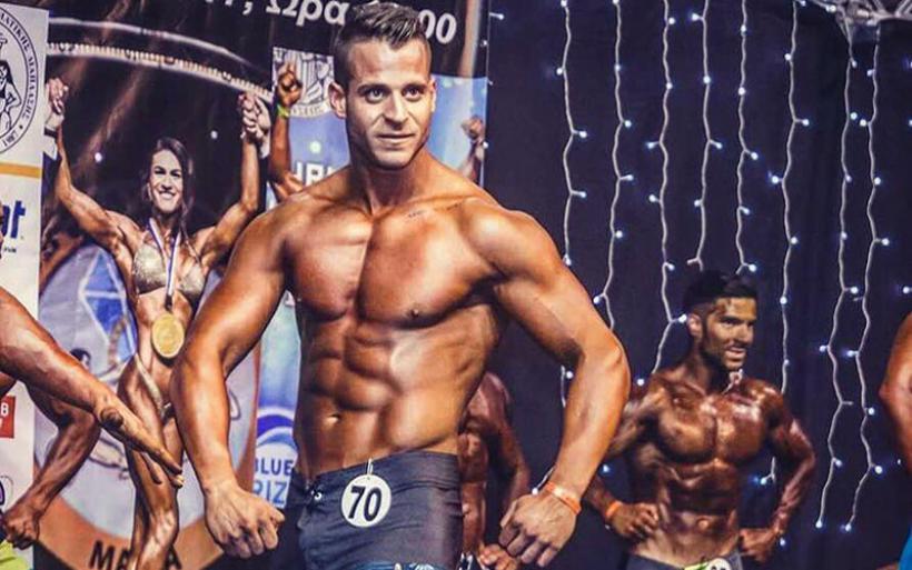 Διάκριση του Στάθη Τετριμίδα στο 30o Πρωτάθλημα Σωματικής Διάπλασης και Fitness 2017 (φωτο)