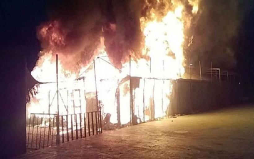 Τραγωδία στη Λέσβο: Νεκρή γυναίκα από φωτιά στο hotspot του Καρά Τεπέ