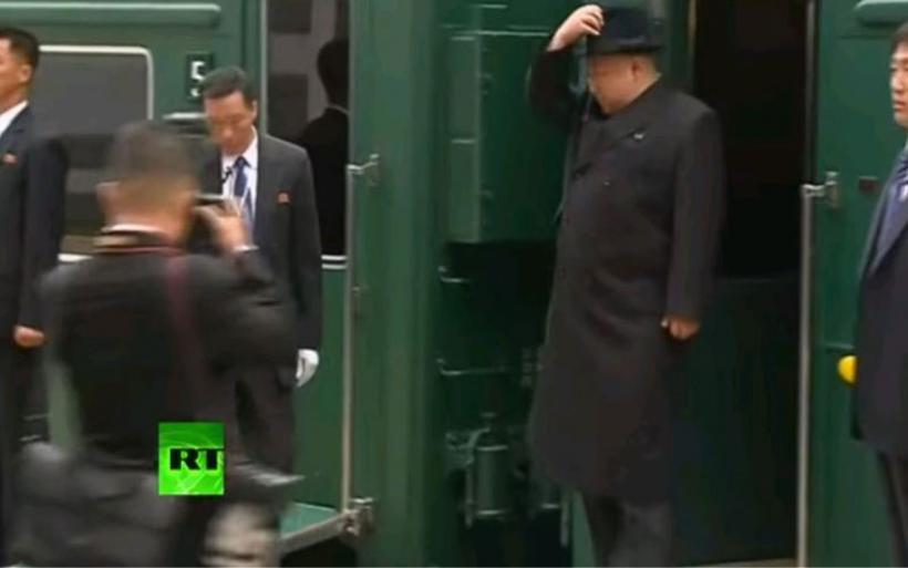 Με θωρακισμένο τρένο ο Κιμ Γιονγκ Ουν στο Βλαδιβοστόκ