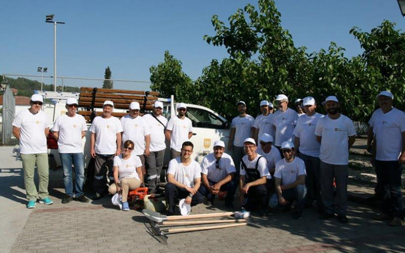 «Ευχαριστίες για την εθελοντική δράση στην Τοπική Κοινότητα Αμαλιάπολης από την εταιρεία «ΜΥΛΟΙ ΛΟΥΛΗ»