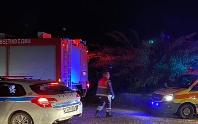 Δραματική διάσωση 21χρονου που παρασύρθηκε από χείμαρρο στο Καβαλάρι Θεσσαλονίκης