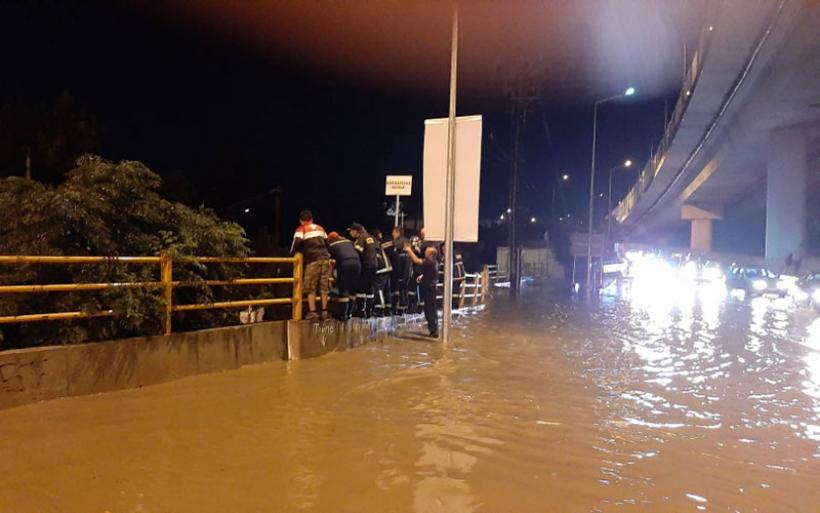 Πλημμύρες και χαλάζι σε Θεσσαλονίκη και Τρίκαλα – Πού θα «χτυπήσει» το νέο κύμα κακοκαιρίας