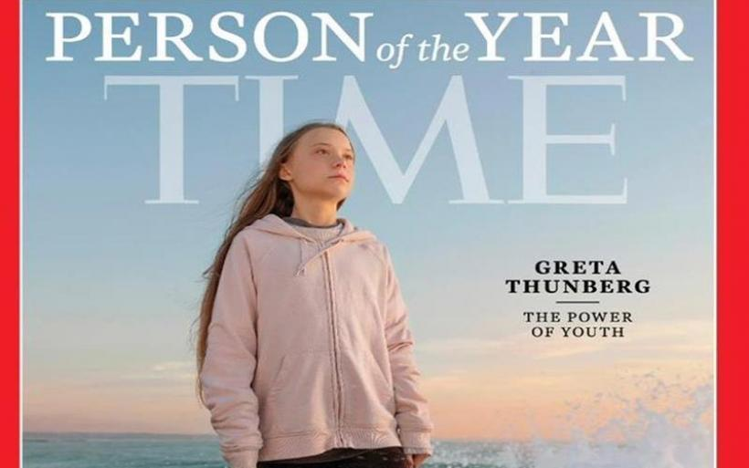TIME: Η Γκρέτα Τούνμπεργκ είναι το Πρόσωπο της Χρονιάς 2019