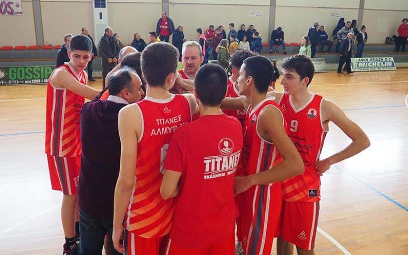 Επιστροφή στις νίκες για τους Τιτάνες 71-59 τον Ολυμπιονίκη (φωτο)