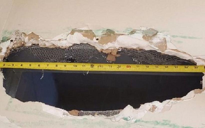 Κινηματογραφική απόδραση: Άνοιξαν τρύπα 55 εκατοστών στην τουαλέτα της φυλακής