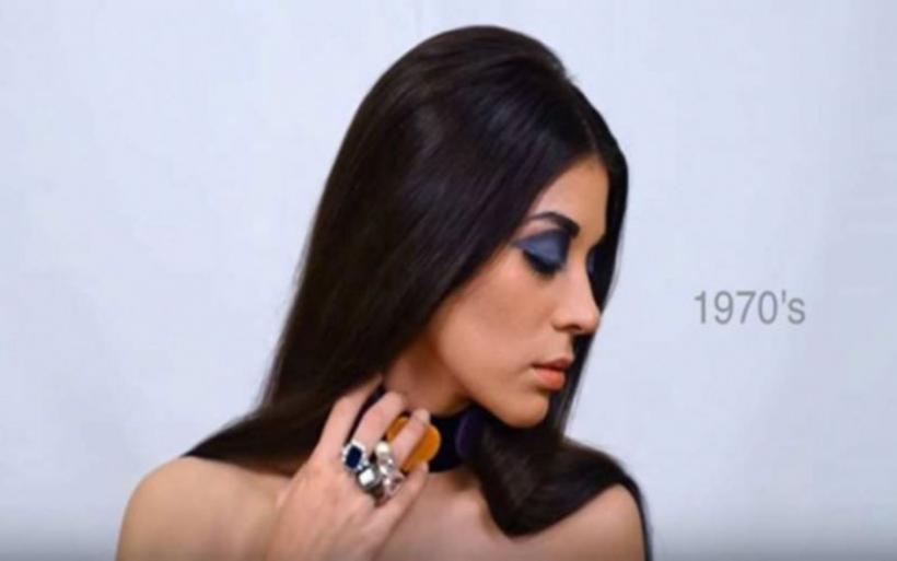 100 χρόνια ελληνικής ομορφιάς μέσα σε ένα δίλεπτο βίντεο