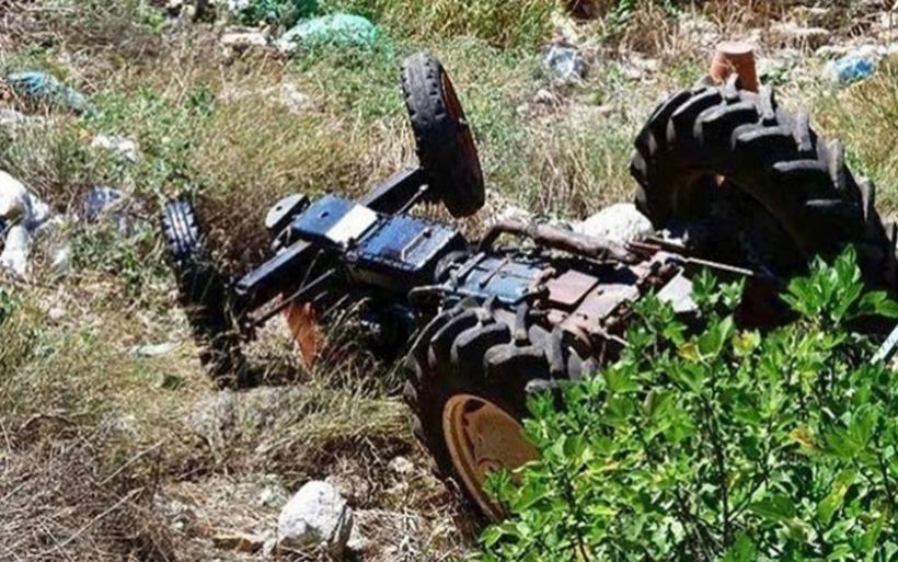 Μαγνησία: Νεκρός 78χρονος αγρότης που καταπλακώθηκε από το τρακτέρ του