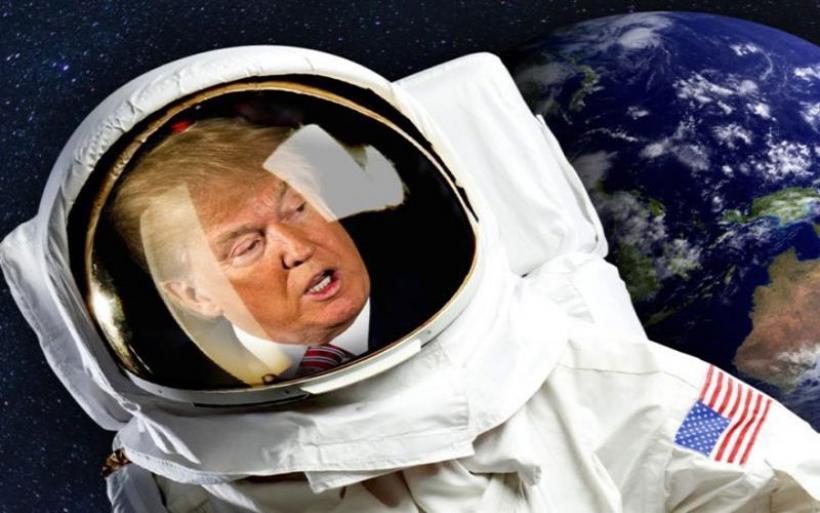 """Ο Τραμπ ετοιμάζεται για αληθινό πόλεμο των άστρων: Ιδρύει """"Διοίκηση Διαστήματος"""""""