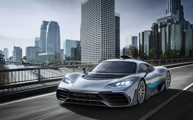 To Mercedes-AMG Project One έκλεψε την παράσταση στην έκθεση της Φρανκφούρτης