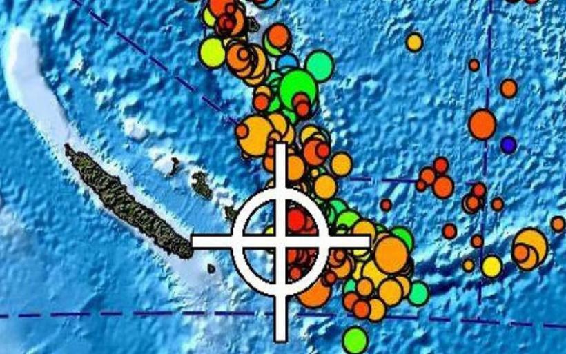 Συναγερμός στη Ν. Καληδονία για το τσουνάμι που σχηματίζεται μετά τον σεισμό των 7,6R