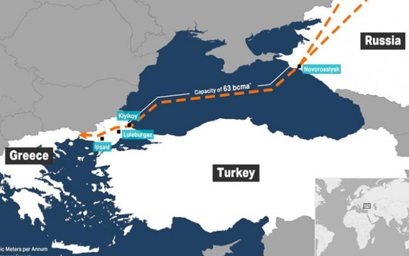 Θα μοιράζει φυσικό αέριο στην Ευρώπη ως το τέλος του χρόνου ο TurkStream