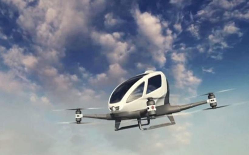 Ιπτάμενο ταξί χωρίς οδηγό ετοιμάζει το Ντουμπάι