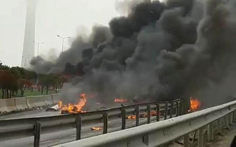 Συντρίβη ελικοπτέρου στην Κωνσταντινούπολη - Νεκροί οι δύο πιλότοι και πέντε ακόμα άτομα