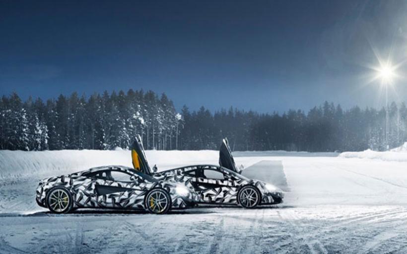 McLaren:Ακαδημία οδήγησης στον Αρκτικό Κύκλο
