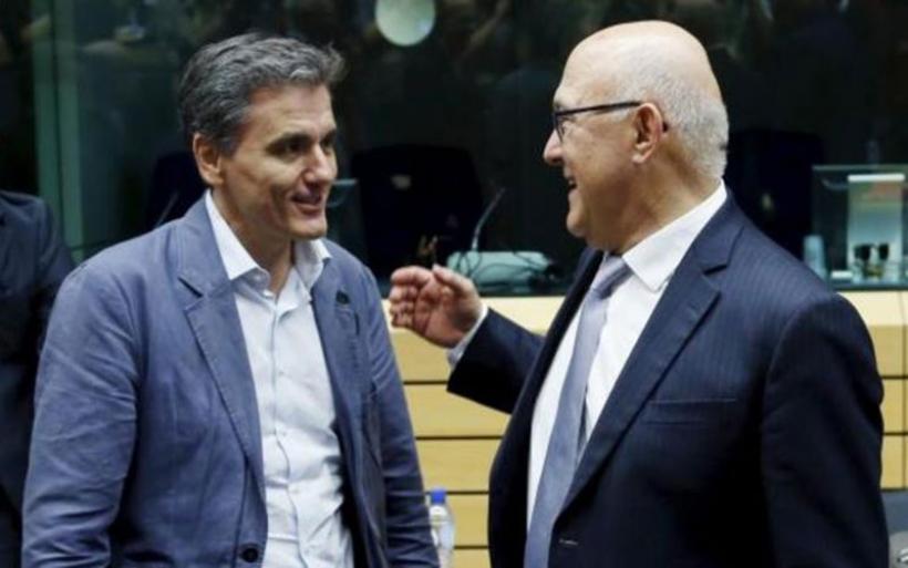 Συνάντηση Τσακαλώτου - Σαπέν για το κλείσιμο της αξιολόγησης