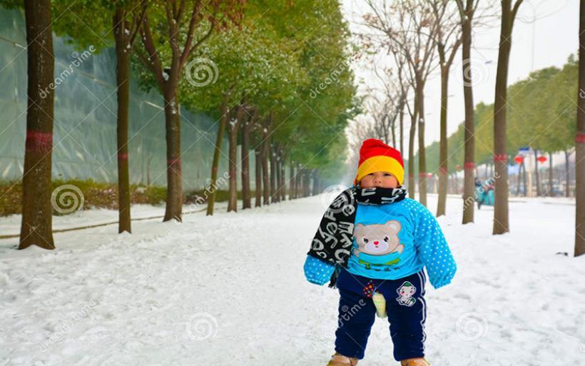 Πώς ντύνουμε το παιδί στο κρύο;
