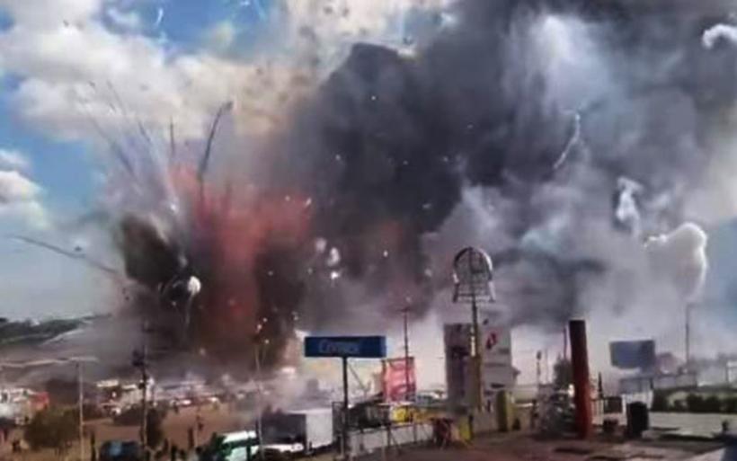 Τραγωδία σε αγορά πυροτεχνημάτων στο Τολτέπεκ του Μεξικό.